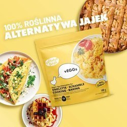 vEGGs Omelette — roślinny zamiennik jajek Cultured Foods 180g