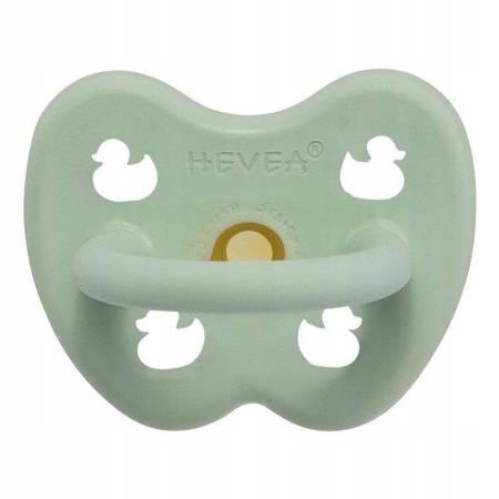 Anatomiczny smoczek kauczukowy Mellow Mint 0m+ HEVEA