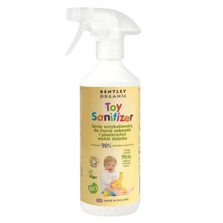 Dziecięcy Spray Dezynfekujący do Mycia Zabawek 500ml Bentley Organic