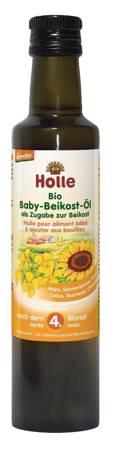 Ekologiczny olej do posiłków dla niemowląt 4m+ Holle
