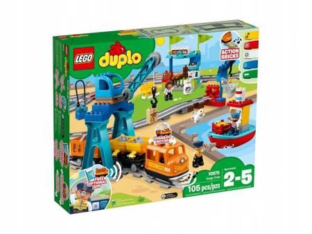 KLOCKI LEGO 10875 Duplo Pociąg towarowy