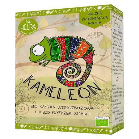 Kameleon — wielozbożowa kaszka z 8 różdżkami smaku BIO 316g Helpa
