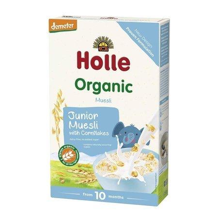 Kaszka Junior Musli z Corn Flakes 10m+ Bio Demeter Holle
