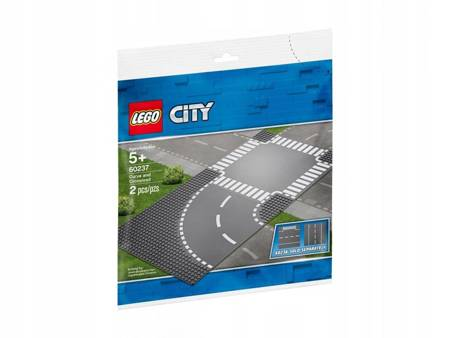 Klocki LEGO 60237 City Zakręt i skrzyżowanie