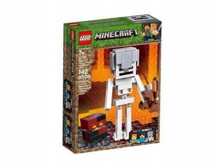 LEGO 21150 Minecraft BigFig szkielet kostką magmy