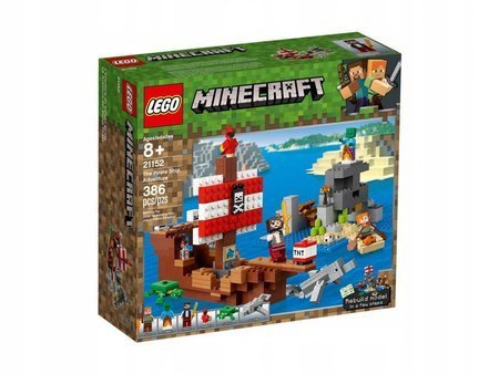 LEGO 21152 Minecraft Przygoda na statku pirackim