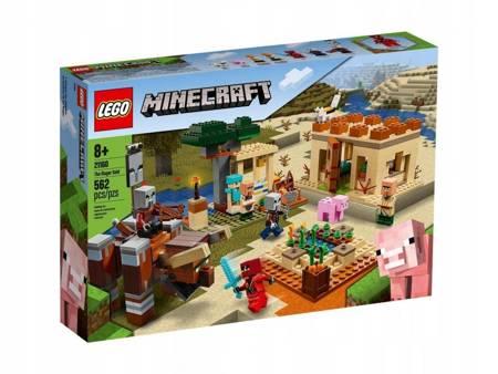 LEGO 21160 Minecraft Najazd złosadników