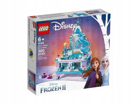 LEGO 41168 Disney Szkatułka na biżuterię Elsy