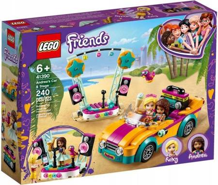 LEGO 41390 FRIENDS SAMOCHÓD I SCENA ANDREI