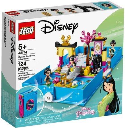 LEGO 43174 Disney Książka z przygodami Mulan