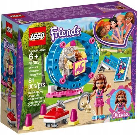 LEGO FRIENDS Plac zabaw dla chomików Olivii 41383