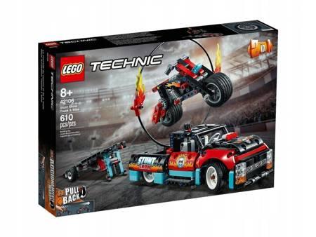 Lego Technic Furgonetka i motocykl 42106 Kaskaders