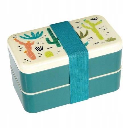 Lunchbox Bento Śniadaniówka Kaktusy Rex London