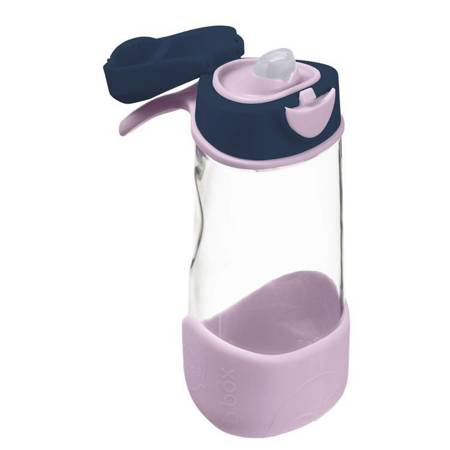 Sportowa butelka tritanowa 450 ml Indigo Rose 3+ B.Box