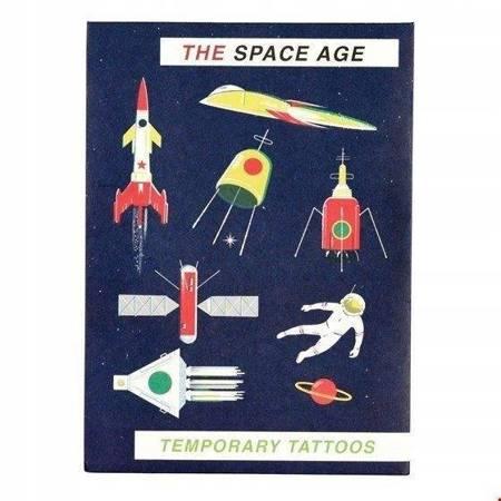 Tatuaże zmywalne dla dzieci kosmos Rex London