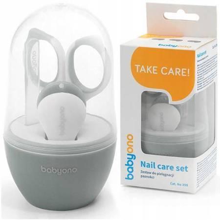 Zestaw do pielęgnacji paznokci dla dzieci i niemowląt 398/03 BabyOno